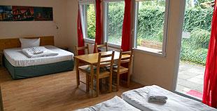 Familienzimmer bis4 Personen - Aufbettung möglich