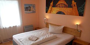 Privatzimmer simple als EZ,  DZ oder mit Aufbettung für 3. Person