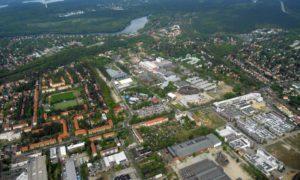 Luftbild Potsdam Filmpark Babelsberg