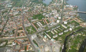 Luftbild Potsdam Nikolaikirche