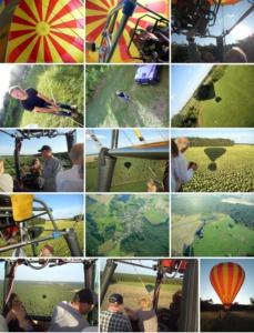 Impressionen Ballonfahrt Potsdam