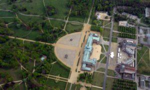 Luftbild Potsdam Neues Palais