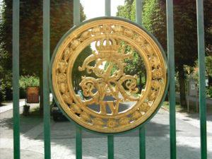 Grünes Gitter - Park Sanssouci